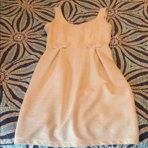 Lauren Conrad Cream Dress